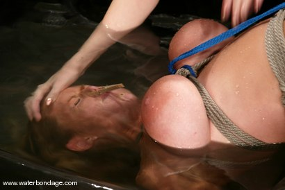 Photo number 15 from Goldie shot for Water Bondage on Kink.com. Featuring Goldie in hardcore BDSM & Fetish porn.