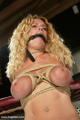 Photo number 6 from Goldie shot for Hogtied on Kink.com. Featuring Goldie in hardcore BDSM & Fetish porn.