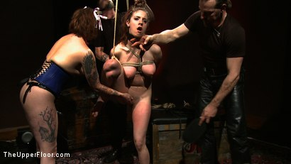 Photo number 14 from Service Day: Grace's Anniversary shot for The Upper Floor on Kink.com. Featuring Iona Grace in hardcore BDSM & Fetish porn.
