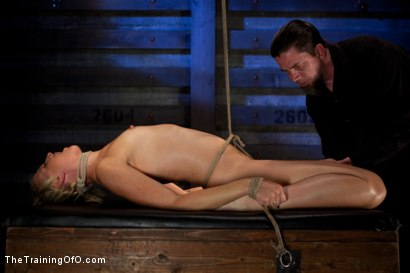 Photo number 7 from Dylan - Day One<br>Tight Bondage, Extreme Orgasms, and Full Domination! shot for The Training Of O on Kink.com. Featuring Dylan Ryan in hardcore BDSM & Fetish porn.