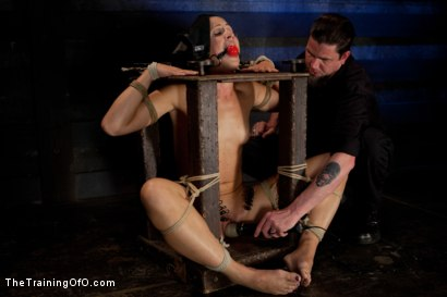 Photo number 4 from Dylan Ryan Day 3<br>Facing Fears with Extreme Binds and Pussy Stretching  shot for The Training Of O on Kink.com. Featuring Dylan Ryan in hardcore BDSM & Fetish porn.