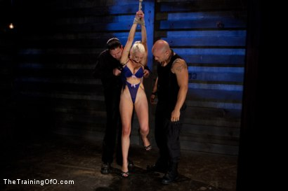 Photo number 1 from Lorelei Lee Day 1<br>Fall From Grace-The Retraining  shot for The Training Of O on Kink.com. Featuring Lorelei Lee and Derrick Pierce in hardcore BDSM & Fetish porn.