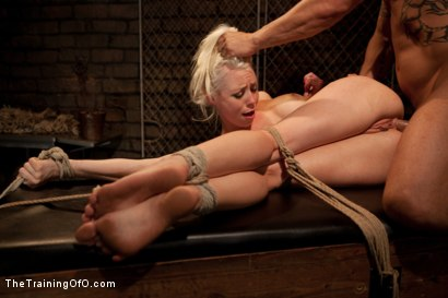 Photo number 12 from Lorelei Lee Day 1<br>Fall From Grace-The Retraining  shot for The Training Of O on Kink.com. Featuring Lorelei Lee and Derrick Pierce in hardcore BDSM & Fetish porn.