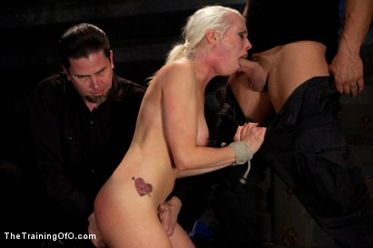 Photo number 5 from Lorelei Lee Day 1<br>Fall From Grace-The Retraining  shot for The Training Of O on Kink.com. Featuring Lorelei Lee and Derrick Pierce in hardcore BDSM & Fetish porn.