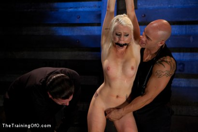 Photo number 3 from Lorelei Lee Day 1<br>Fall From Grace-The Retraining  shot for The Training Of O on Kink.com. Featuring Lorelei Lee and Derrick Pierce in hardcore BDSM & Fetish porn.