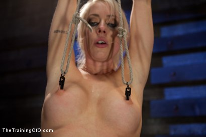 Photo number 4 from Lorelei Lee Day 1<br>Fall From Grace-The Retraining  shot for The Training Of O on Kink.com. Featuring Lorelei Lee and Derrick Pierce in hardcore BDSM & Fetish porn.