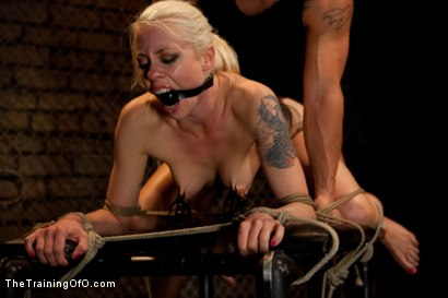Photo number 7 from Lorelei Lee Day 1<br>Fall From Grace-The Retraining  shot for The Training Of O on Kink.com. Featuring Lorelei Lee and Derrick Pierce in hardcore BDSM & Fetish porn.