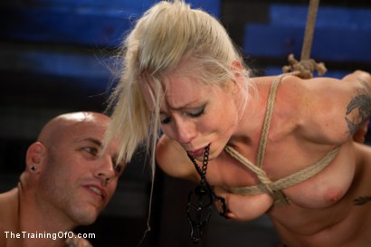 Photo number 11 from Lorelei Lee: Day 2 shot for The Training Of O on Kink.com. Featuring Lorelei Lee and Derrick Pierce in hardcore BDSM & Fetish porn.