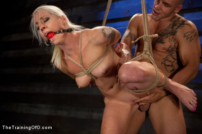 Photo number 8 from Lorelei Lee: Day 2 shot for The Training Of O on Kink.com. Featuring Lorelei Lee and Derrick Pierce in hardcore BDSM & Fetish porn.
