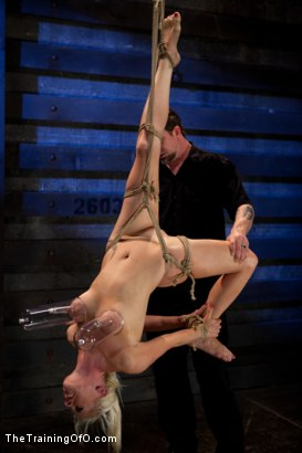 Photo number 1 from Lorelei Lee Day 3<br>Learning the Ropes of Brutal Domination shot for The Training Of O on Kink.com. Featuring Lorelei Lee in hardcore BDSM & Fetish porn.
