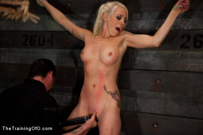 Photo number 10 from Lorelei Lee Day 3<br>Learning the Ropes of Brutal Domination shot for The Training Of O on Kink.com. Featuring Lorelei Lee in hardcore BDSM & Fetish porn.