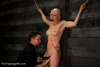 Photo number 12 from Lorelei Lee Day 3<br>Learning the Ropes of Brutal Domination shot for The Training Of O on Kink.com. Featuring Lorelei Lee in hardcore BDSM & Fetish porn.