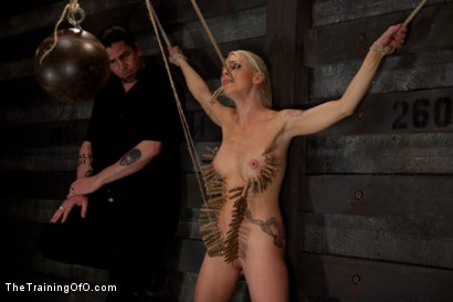 Photo number 13 from Lorelei Lee Day 3<br>Learning the Ropes of Brutal Domination shot for The Training Of O on Kink.com. Featuring Lorelei Lee in hardcore BDSM & Fetish porn.
