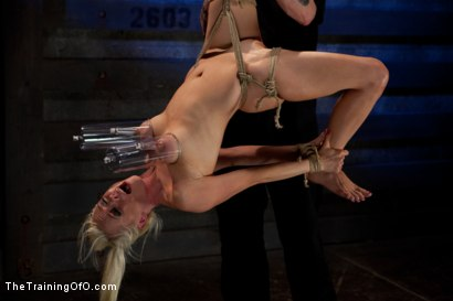 Photo number 3 from Lorelei Lee Day 3<br>Learning the Ropes of Brutal Domination shot for The Training Of O on Kink.com. Featuring Lorelei Lee in hardcore BDSM & Fetish porn.