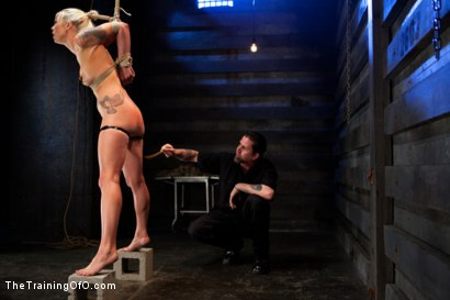 Photo number 1 from Lorelei Lee Day 4<br>Facing Fears, Taking Brutal Torture, and Extreme Orgasms shot for The Training Of O on Kink.com. Featuring Lorelei Lee in hardcore BDSM & Fetish porn.