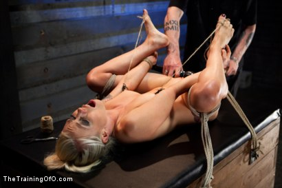 Photo number 11 from Lorelei Lee Day 4<br>Facing Fears, Taking Brutal Torture, and Extreme Orgasms shot for The Training Of O on Kink.com. Featuring Lorelei Lee in hardcore BDSM & Fetish porn.
