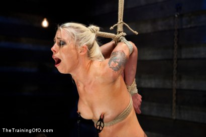 Photo number 15 from Lorelei Lee Day 4<br>Facing Fears, Taking Brutal Torture, and Extreme Orgasms shot for The Training Of O on Kink.com. Featuring Lorelei Lee in hardcore BDSM & Fetish porn.