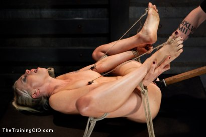 Photo number 9 from Lorelei Lee Day 4<br>Facing Fears, Taking Brutal Torture, and Extreme Orgasms shot for The Training Of O on Kink.com. Featuring Lorelei Lee in hardcore BDSM & Fetish porn.