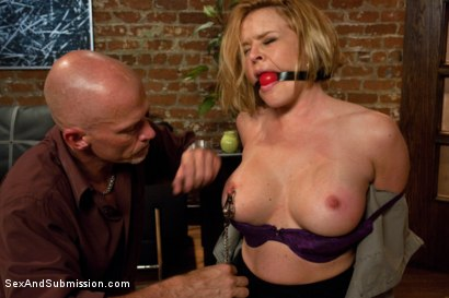 Photo number 8 from My Wife is an Escort! shot for Sex And Submission on Kink.com. Featuring Mark Davis, Mickey Mod and Krissy Lynn in hardcore BDSM & Fetish porn.