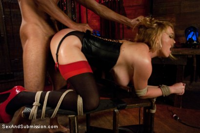 Photo number 5 from My Wife is an Escort! shot for Sex And Submission on Kink.com. Featuring Mark Davis, Mickey Mod and Krissy Lynn in hardcore BDSM & Fetish porn.