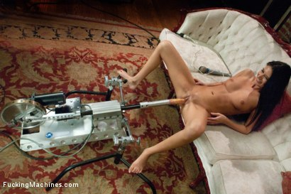 Photo number 13 from MILF POWER: 1 huge clit, 1 giving pussy, 3 hardcore FuckingMachines shot for Fucking Machines on Kink.com. Featuring Nikki Daniels in hardcore BDSM & Fetish porn.
