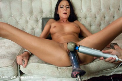 Photo number 8 from MILF POWER: 1 huge clit, 1 giving pussy, 3 hardcore FuckingMachines shot for Fucking Machines on Kink.com. Featuring Nikki Daniels in hardcore BDSM & Fetish porn.