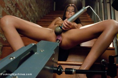 Photo number 2 from Oh Nikki You're SO FINE: Machine fucking a swinging MILF shot for Fucking Machines on Kink.com. Featuring Nikki Daniels in hardcore BDSM & Fetish porn.