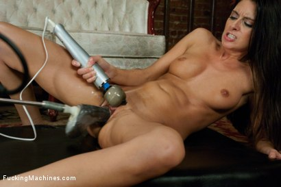 Photo number 8 from Oh Nikki You're SO FINE: Machine fucking a swinging MILF shot for Fucking Machines on Kink.com. Featuring Nikki Daniels in hardcore BDSM & Fetish porn.