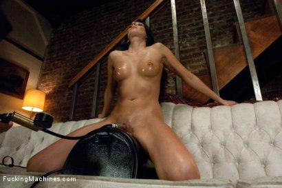 Photo number 12 from Oh Nikki You're SO FINE: Machine fucking a swinging MILF shot for Fucking Machines on Kink.com. Featuring Nikki Daniels in hardcore BDSM & Fetish porn.