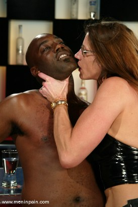 Photo number 7 from Chocolate Luv and Kym Wilde shot for Men In Pain on Kink.com. Featuring Chocolate Luv and Kym Wilde in hardcore BDSM & Fetish porn.