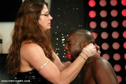 Photo number 11 from Chocolate Luv and Kym Wilde shot for Men In Pain on Kink.com. Featuring Chocolate Luv and Kym Wilde in hardcore BDSM & Fetish porn.