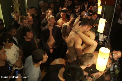 Photo number 10 from Club Dragon shot for Bound in Public on Kink.com. Featuring Shane Frost, Tristan Jaxx and Tristan Tran in hardcore BDSM & Fetish porn.