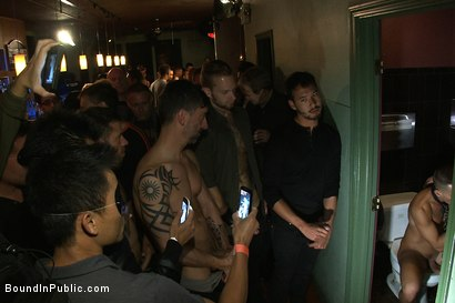 Photo number 4 from Club Dragon shot for Bound in Public on Kink.com. Featuring Shane Frost, Tristan Jaxx and Tristan Tran in hardcore BDSM & Fetish porn.