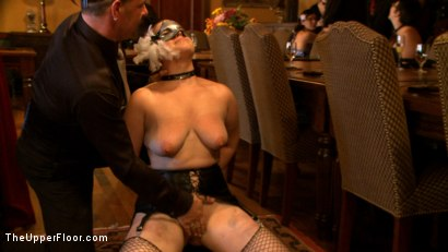 Photo number 21 from Stefanos' Brunch shot for The Upper Floor on Kink.com. Featuring Maestro Stefanos, Krysta Kaos, Nerine Mechanique and Iona Grace in hardcore BDSM & Fetish porn.