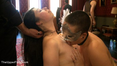 Photo number 4 from Stefanos' Brunch shot for The Upper Floor on Kink.com. Featuring Maestro Stefanos, Krysta Kaos, Nerine Mechanique and Iona Grace in hardcore BDSM & Fetish porn.
