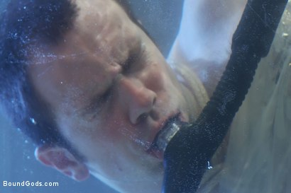 Photo number 12 from Bound in the sleepsack, submerged under water and made to cum. shot for Bound Gods on Kink.com. Featuring CJ Madison and Dante in hardcore BDSM & Fetish porn.