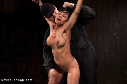 Photo number 1 from Bangin' Brunette Broad -  shot for devicebondage on Kink.com. Featuring Beretta James in hardcore BDSM & Fetish porn.