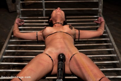 Photo number 11 from Bangin' Brunette Broad -  shot for Device Bondage on Kink.com. Featuring Beretta James in hardcore BDSM & Fetish porn.