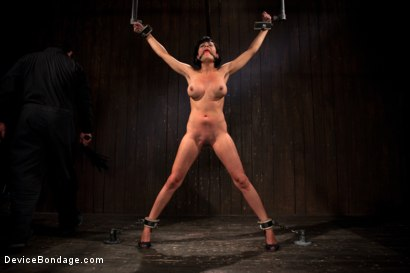 Photo number 2 from Bangin' Brunette Broad -  shot for Device Bondage on Kink.com. Featuring Beretta James in hardcore BDSM & Fetish porn.