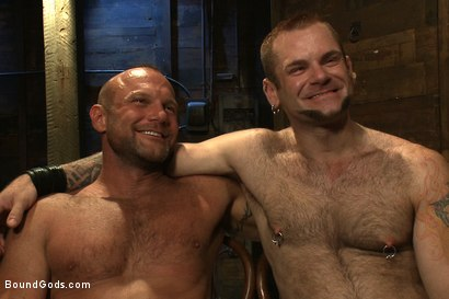 Photo number 15 from Psycho Boyfriend shot for Bound Gods on Kink.com. Featuring Chad Brock and Tober Brandt in hardcore BDSM & Fetish porn.