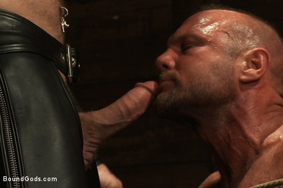 Photo number 4 from Psycho Boyfriend shot for Bound Gods on Kink.com. Featuring Chad Brock and Tober Brandt in hardcore BDSM & Fetish porn.
