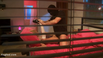 "Photo number 7 from ""Creepers"" A fantasy feature abduction film shot for Hogtied on Kink.com. Featuring Mark Davis and Kaylee Hilton in hardcore BDSM & Fetish porn."