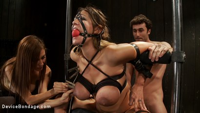 Photo number 13 from Bound tight to be ass fucked deep and hard. shot for Device Bondage on Kink.com. Featuring James Deen and Trina Michaels in hardcore BDSM & Fetish porn.