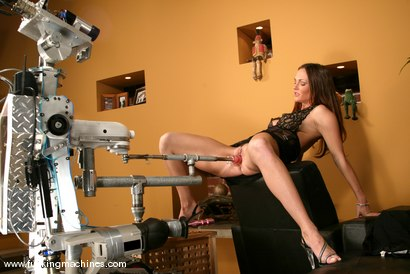 Photo number 5 from Venus shot for Fucking Machines on Kink.com. Featuring Venus in hardcore BDSM & Fetish porn.