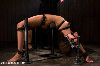 Photo number 6 from Pornstar gets wrecked in her first bondage shoot shot for Device Bondage on Kink.com. Featuring Alexa Cruz in hardcore BDSM & Fetish porn.