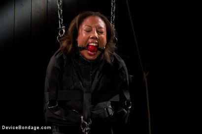 Photo number 11 from Pornstar gets wrecked in her first bondage shoot shot for Device Bondage on Kink.com. Featuring Alexa Cruz in hardcore BDSM & Fetish porn.