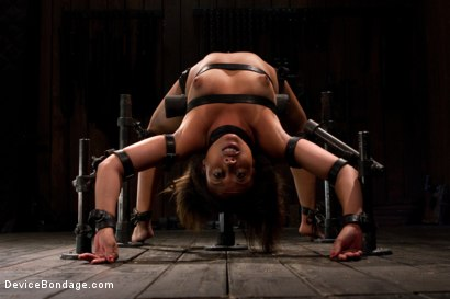 Photo number 4 from Pornstar gets wrecked in her first bondage shoot shot for Device Bondage on Kink.com. Featuring Alexa Cruz in hardcore BDSM & Fetish porn.