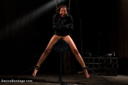 Photo number 10 from Pornstar gets wrecked in her first bondage shoot shot for Device Bondage on Kink.com. Featuring Alexa Cruz in hardcore BDSM & Fetish porn.