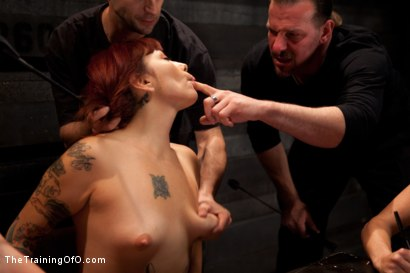 Photo number 3 from 4 Girl Auditions<br>Day 1 shot for The Training Of O on Kink.com. Featuring Akira Raine, Sofia Lauryn, Maestro, Rozen Debowe, Odile and Maestro Stefanos in hardcore BDSM & Fetish porn.
