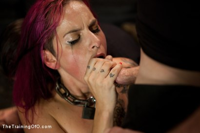 Photo number 7 from 4 Girl Auditions<br>Sexual Testing  shot for The Training Of O on Kink.com. Featuring Akira Raine, Sofia Lauryn, Rozen Debowe, Odile and James Deen in hardcore BDSM & Fetish porn.